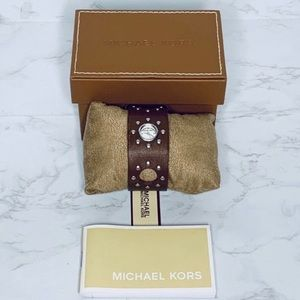 Michael Kors | Runway Watch 30MM Leather Strap